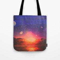 Stars Dance Tote Bag
