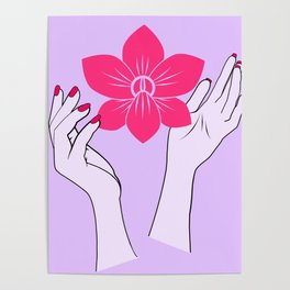 Holy orchid Poster