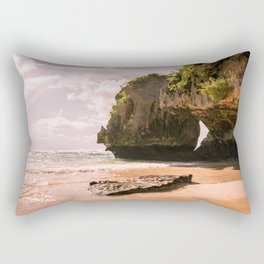 Uluwatu Beach Rectangular Pillow