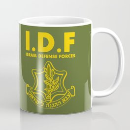 IDF Israel Defense Forces - with Symbol - ENG Coffee Mug