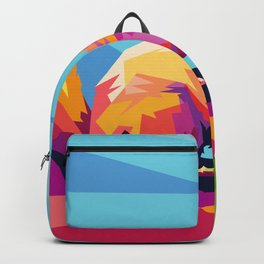 Squirrel Colorfull Backpack