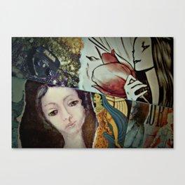 Blue Veil Canvas Print