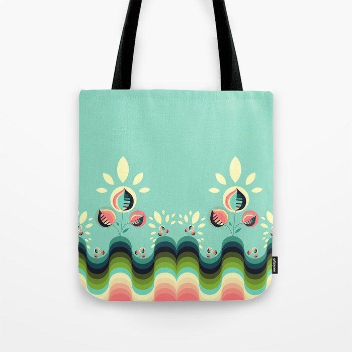 Happy Garden Tote Bag