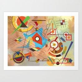 Coexisting Art Print