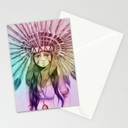 Plume Girl Stationery Cards