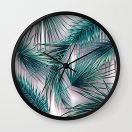 tropics vector Wall Clock