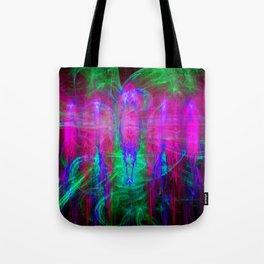 Fractal Angels IV Tote Bag