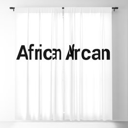 African Blackout Curtain