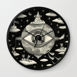 Some Sort of Mystical Explanation Wall Clock