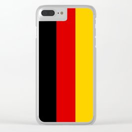 National flag of Germany Clear iPhone Case