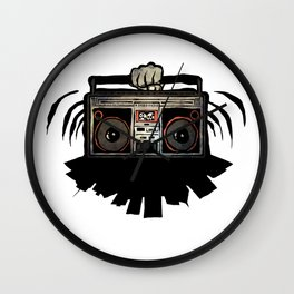 """Livin' For The City - """"Good Vibrations"""" Wall Clock"""