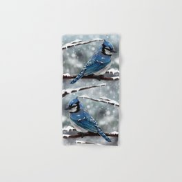 Blue Jay Hand & Bath Towel