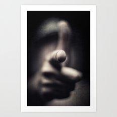Threat...(2.0) Art Print