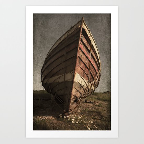 One Proud Boat Art Print