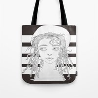 fka twigs Tote Bags featuring FKA by Kim Ly