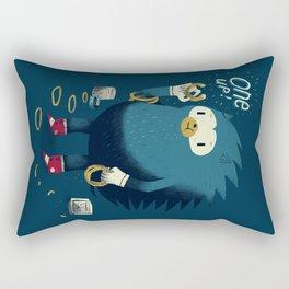 1 up! Rectangular Pillow