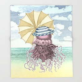 Summer Promenade Throw Blanket