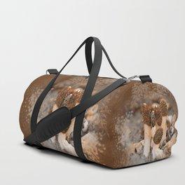 Mushroom Tile Duffle Bag