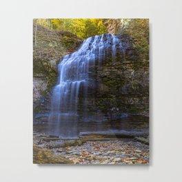 Ontario Water Fall Metal Print