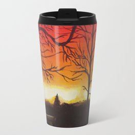 Home of Beautiful Sunsets Travel Mug