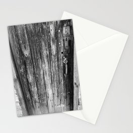 OLD CABIN DOOR Stationery Cards