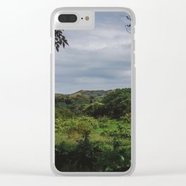 Mexican landscape Clear iPhone Case