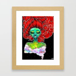 The Brighter Galaxy Framed Art Print