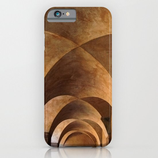 Symmetrical ceiling in Rome. iPhone & iPod Case