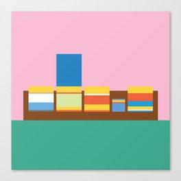 Simpsons - Sofa Canvas Print