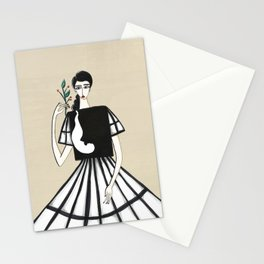Henri Matisse inspired fashion #2 Stationery Cards