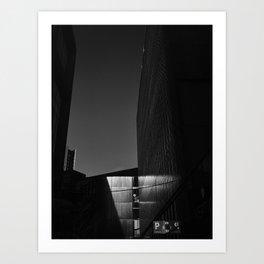 Urban reflections. Art Print