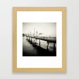 Time to Fish Framed Art Print