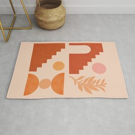 Abstraction_SUN_NATURE_Architecture_Minimalism_002 Rug