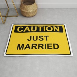 Just Married Rug