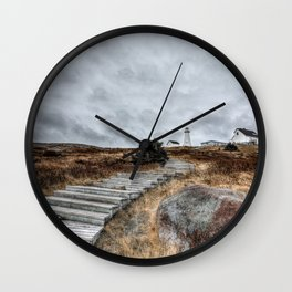 Most Easterly Lighthouse Wall Clock