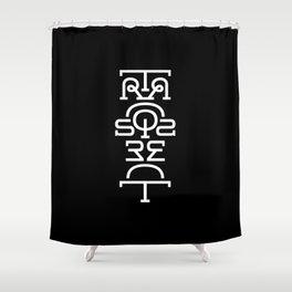Transparent (Totem) Shower Curtain