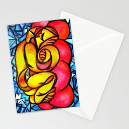 A Seeping ladle in yellow Stationery Cards