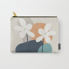 Abstract Flowers 3 Carry-All Pouch