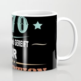 50th Birthday Gift Born In 1970 50 Years 2020 Coffee Mug