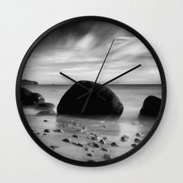 Hidden Bowling Ball Beach Northern California Wall Clock