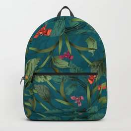 Beets and Irisses pattern Backpack