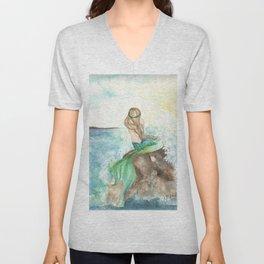 Summer Mermaid Unisex V-Neck