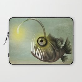 Fishy on it's own Laptop Sleeve