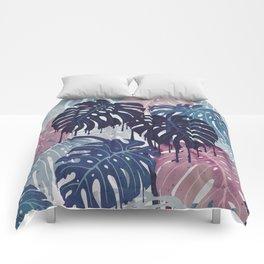 Monstera Melt Comforters