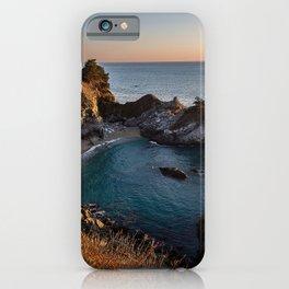 USA McWay Falls, Julia Pfeiffer Burns State Park Ocean Nature Parks Cove Coast park iPhone Case