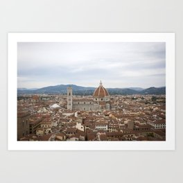 Dream of the Duomo Art Print