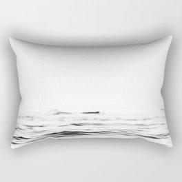 Ocean Minimalist Rectangular Pillow