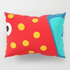 Red Fish illustration for kids Pillow Sham