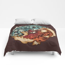 The Tiger and the Dragon Comforters
