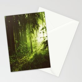 Mid Century Forest Stationery Cards